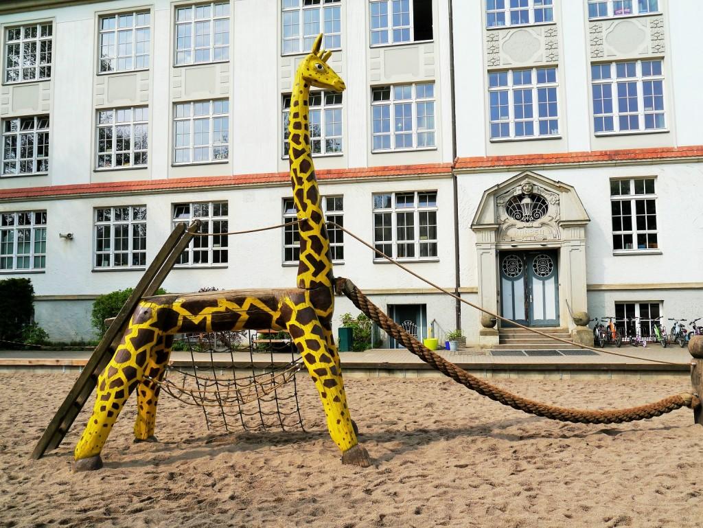 Unsere Giraffe
