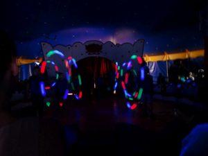 Zirkus Lichtshow